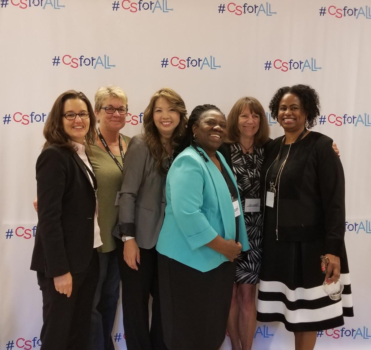 ECEP and friends at CSforAll Summit 2017