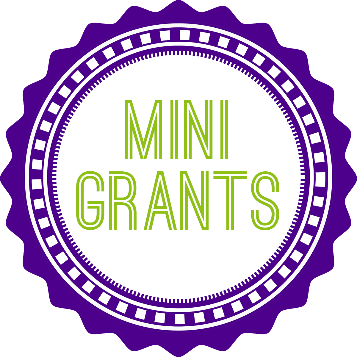 mini-grant badge